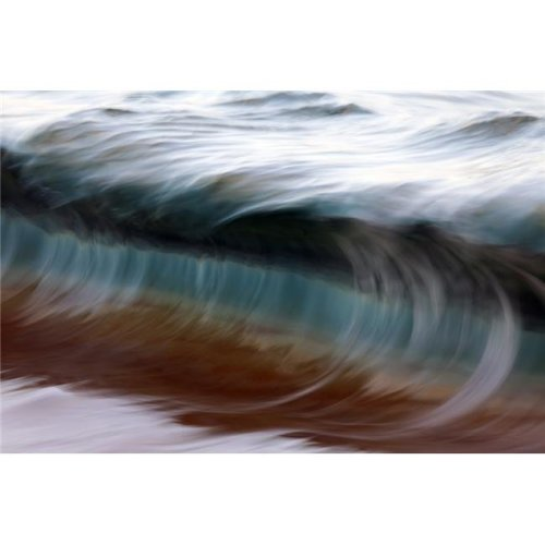 Ocean Wave Blurred by Motion - Hawaii United States of America Poster Print by Vince Cavataio, 38 x 24 - Large