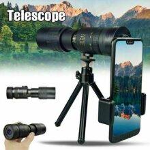 4K 10-300X40mm Super Telephoto Zoom Monocular Telescope with BAK4 Prism Lens