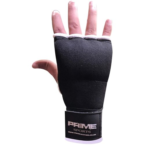 (Black S-M) Professional training gel padded mitts inner gloves for kick boxing sparring grappling sports mma and martial arts 1566