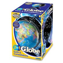 Brainstorm Toys 2 In 1 Globe Earth & Constellations