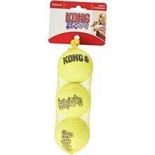 KONG SqueakAir Ball Dog Fetch Toy - Medium, Pack of 3