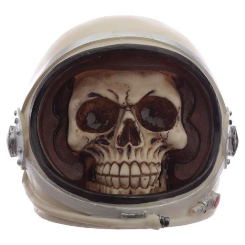 Fantasy Astronaut Skull Ornament