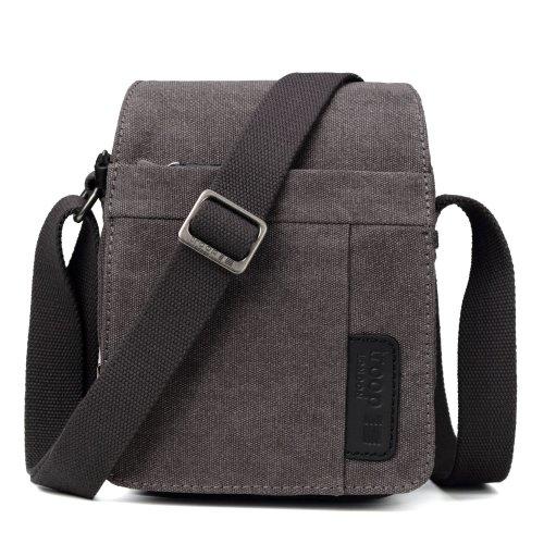 Troop London Classic Canvas Across Body Bag   Buy Across Bags Online   Canvas Across Body Bag   shoulder bag