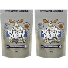 Muscle Moose - Protein Pancakes 2x 500g packs (Golden Syrup Flavour)