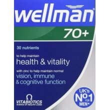 Vitabiotics - Wellman 70+  30 VTabs