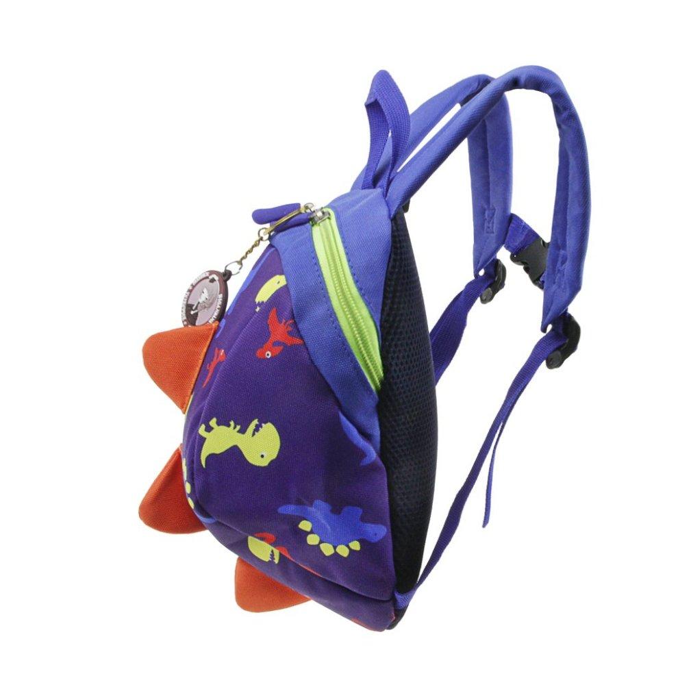 Cartoon Baby Toddler Kids Walker Safety Harness Strap Bag Backpack with Reins US