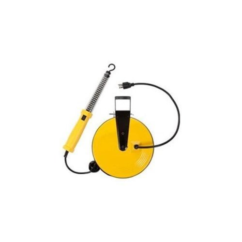 60 LED Work Light on Metal Reel with 50 ft. Cord