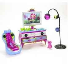 Barbie Dream Glam Room Play Set Pink And Purple
