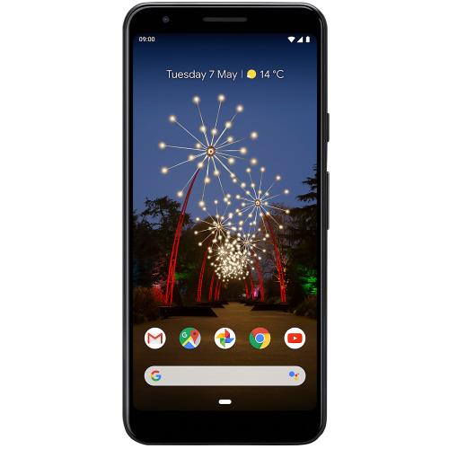 (Unlocked, Black) Google Pixel 3A Single Sim | 64GB | 4GB RAM - Refurbished