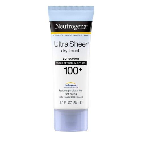 Neutrogena Ultra Sheer Water Resistant Sunscreen SPF 100+