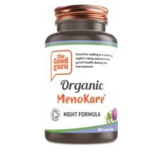 Organic MenoKare Night Formula Supplement, No Added Sugar, Gluten-free