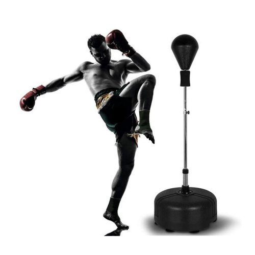 Freestanding Adjustable Reflex Boxing Bag with Stand