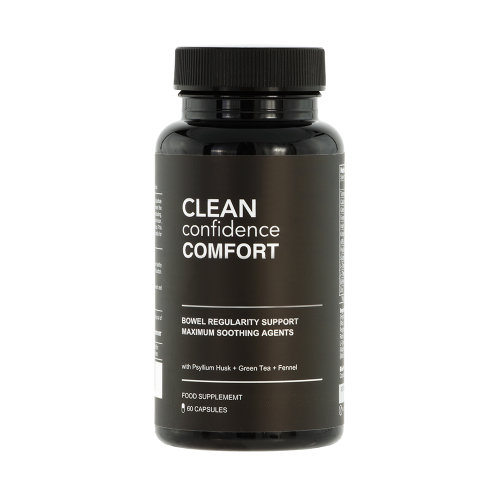 CLEAN Confidence COMFORT Bowel Regularity Support - 60 Capsules