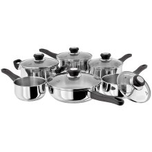 Judge HPC1 Stainless Steel 5-Piece Set of Pans