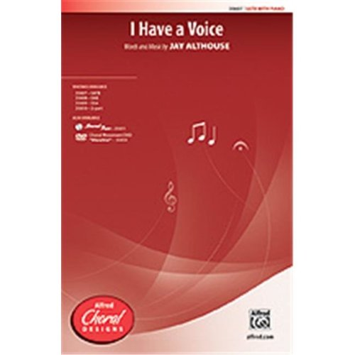 Alfred 00-35611 I HAVE A VOICE-STRX CD