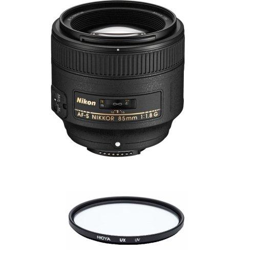 NIKON AF-S 85MM F1.8G + HOYA UX UV 67mm Filter