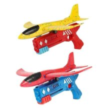 Airplane Launcher Toy Catapult Plane Gun Outside Flying Launcher Toy
