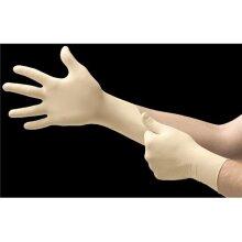 Microflex MFX-L972 E-Grip L97 Latex Exam Glove, Natural - Medium