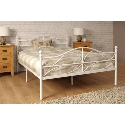 Willow Metal Bed Frame with Charlotte Mattress