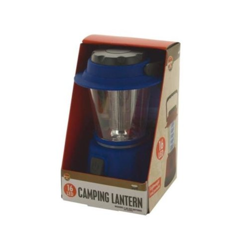 Kole Imports OT416-8 4.25 x 4.25 x 7 in. Portable 16 LED Camping Lantern - Pack of 8