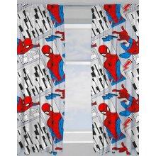 """Marvel Spider-Man Flight Ready Made Curtains 66"""" x 72"""""""