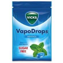 Vicks VapoDrops Menthol Sugar Free 72g