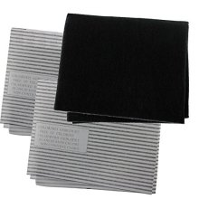 SPARES2GO Cooker Hood Carbon Grease Filter Kit for Hygena Kitchen Extractor Fan Vent