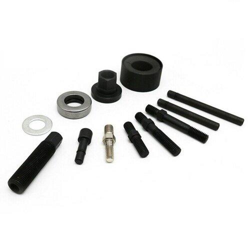 Automotive pully puller remover installer set power steering pump alternator pulley