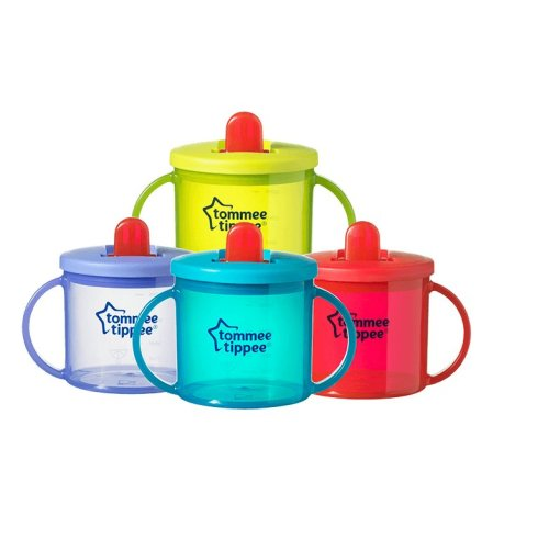 Tommee Tippee Essentials First Cup 190ml | Free-Flow First Baby Cup