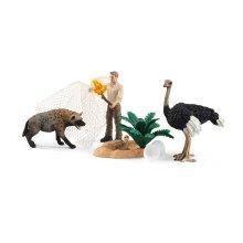 Schleich Wild Life Hyena Attack Toy Figures 42504 42504