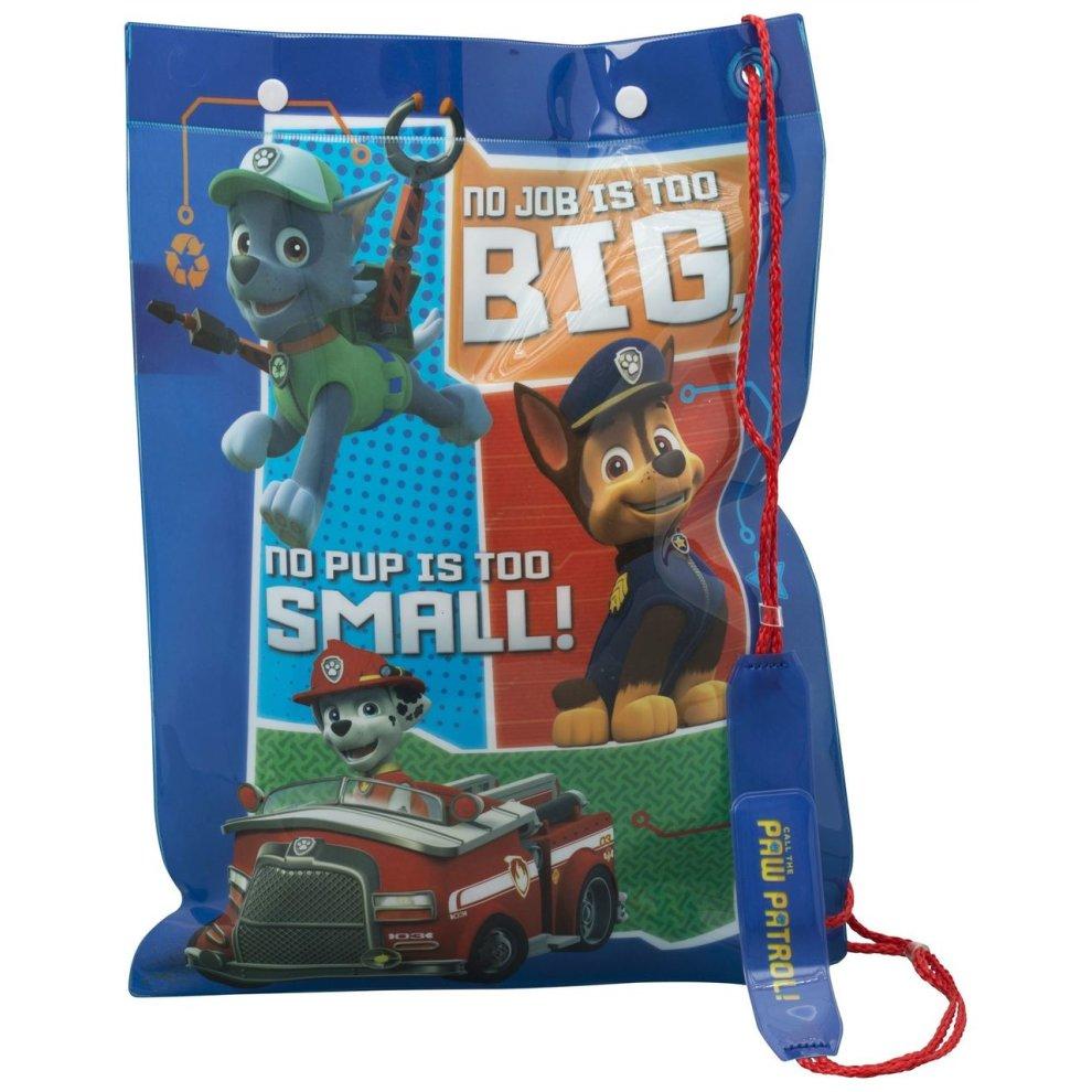Paw Patrol /'In On A Roll/' School Sports Gym Swimming Swim Bag For Kids