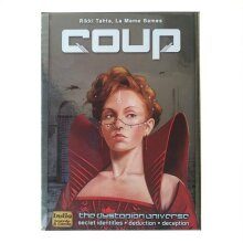 Indie Boards & Cards Coup The Dystopian Universe Card Game Family Party Games