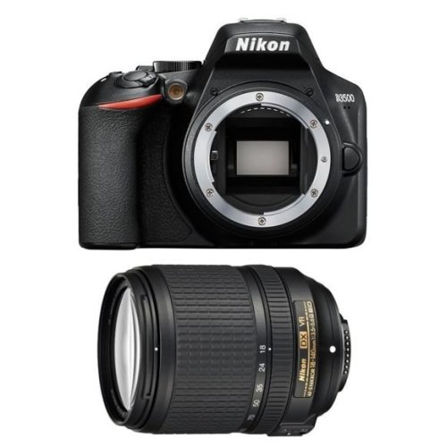 NIKON D3500 Black + AF-S 18-140MM F3.5-5.6G ED VR DX (White Box)