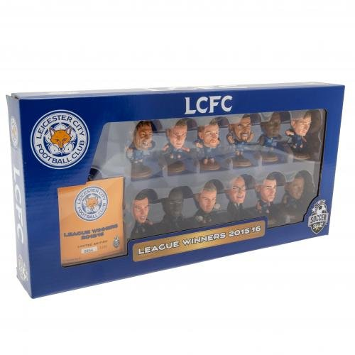 Leicester City F.C. SoccerStarz Premier League Winners 15/16 Team Pack
