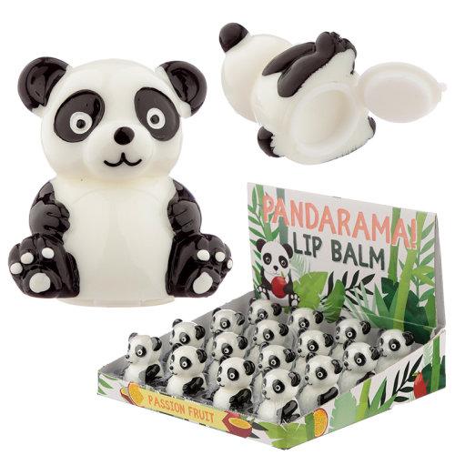 Funky Lip Balm - Cute Panda Design
