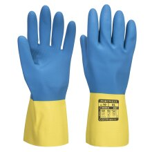Portwest - Double Dipped Latex Gauntlet Glove (1 Pair Pack)