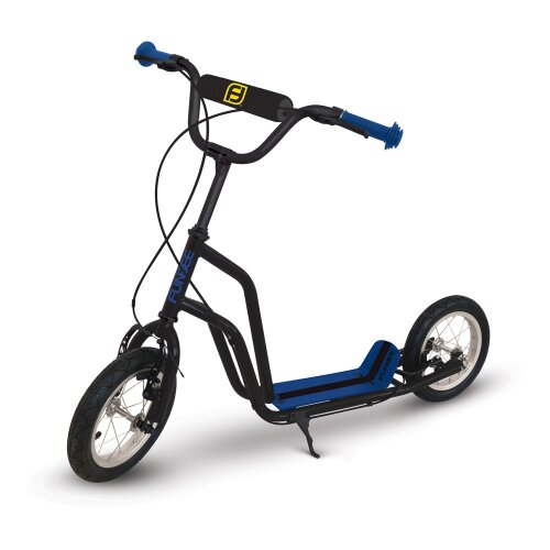 FUNBEE Cross Scooter with 12-Inch Inflatable Wheels and Double Front Brake (OFUN17)