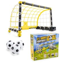 Kids Football Goal Electronic Moving Shooting Game Indoor Soccer Training Set