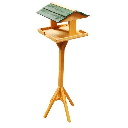 Traditional Bird Table & Stand | Wooden Bird Feeding Station