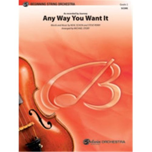 Alfred 00-38410 ANY WAY YOU WANT IT-PBS