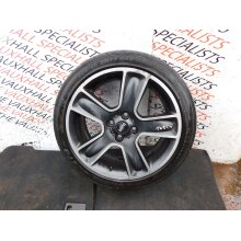MINI COOPER D CONVERTIBLE R57 09-14 SINGLE ALLOY WHEEL + TYRE 17 INCH 6784124 (2 - Used
