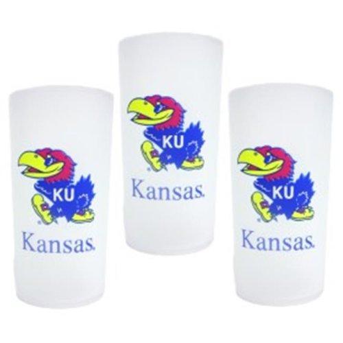 Kansas Jayhawks 3 Piece Tumbler Set