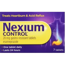 Nexium Control Heartburn and Acid Reflux Relief Tablets, 20mg