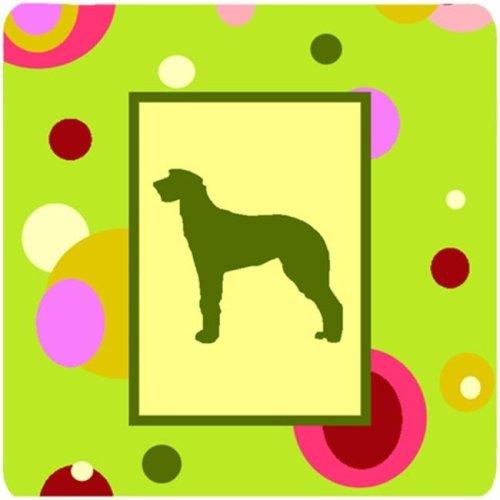 Scottish Deerhound Foam Coasters - Set 4