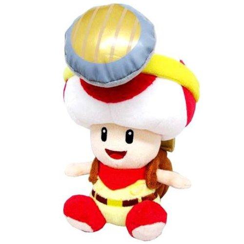 "Plush - Nintendo - Super Mario Captain Toad Sitting 7"" Soft Doll 1408"