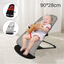 Newborn Baby Bouncer Balance Soft Durable Infant Chair Rocking Seat Foldable UK