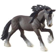 Schleich Shire Stallion Model - Horse Life 13734 Farm New -  schleich shire stallion horse life 13734 farm new