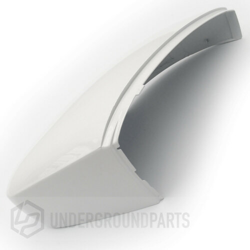 Pure White Wing Mirror Cover Right Drivers Side for VW Polo 6R