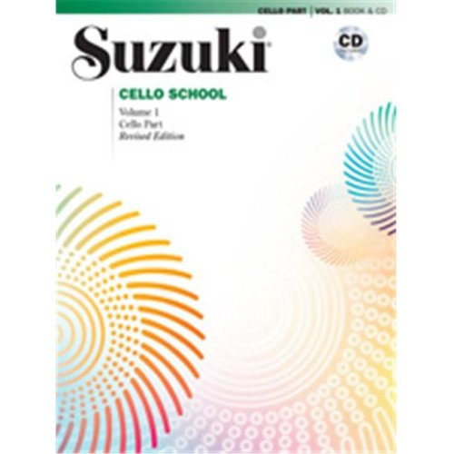 Alfred 00-40697 SUZUKI CELLO SCHOOL 1-BK&CD