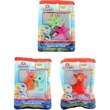 Octonauts Fisher Price Sea Creature Pack - Seahorse, Vampire Squid & Starfish - Set of 3